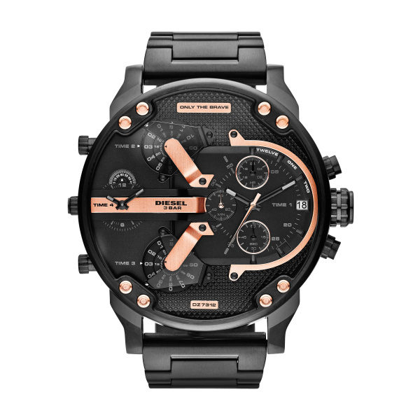Diesel Horloge Mr Daddy Dz7312