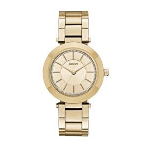 Gouden horloge kopen van DKNY NY2286