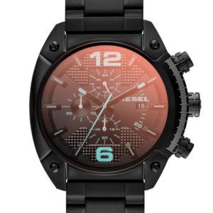 Zwarte Diesel horloge DZ4316