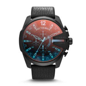 Zwart heren horloge van Diesel DZ4323