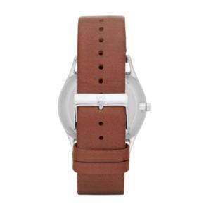 Skagen horloge SKW6086 kopen met lederen horlogeband