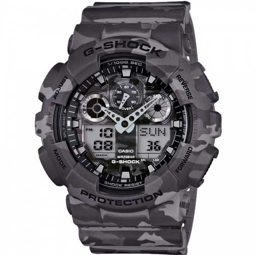 Casio G-shock GA-100CM-8AER horloge
