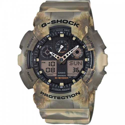 Casio G-shock GA-100MM-5AER horloge