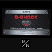 Casio Gshock horloge garantie en horlogedoos