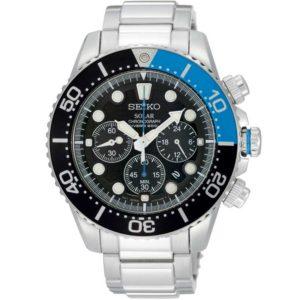 Seiko SSC017P1 chronograaf horloge