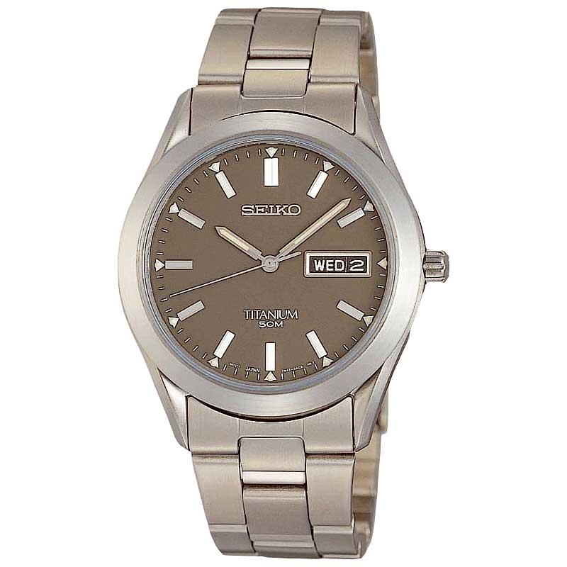 Seiko titanium SGG599P1 horloge