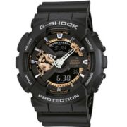 Casio G-Shock GA-110RG-1AER Black Style horloge