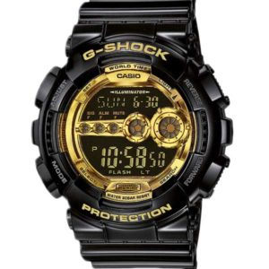 Casio G-Shock GD-100GB-1ER Garish Black horloge