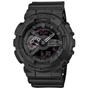 Casio G-Shock GA-110MB-1AER Mission Black horloge