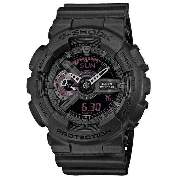 Casio G-Shock GA-110MB-1AER Mission Black horloge