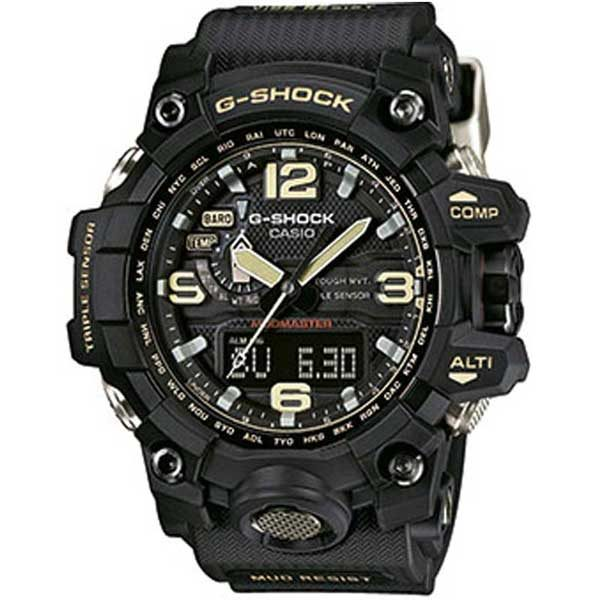 Casio G-Shock GWG-1000-1AER Big Mudmaster black horloge