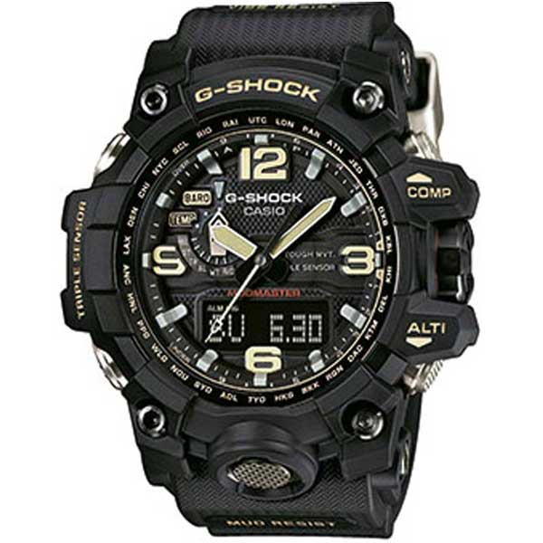 Casio G-Shock GWG-1000-1AER Big Mudmaster black horloge