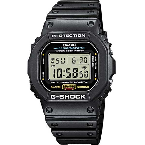 Casio G-Shock DW-5600E-1ER classic horloge