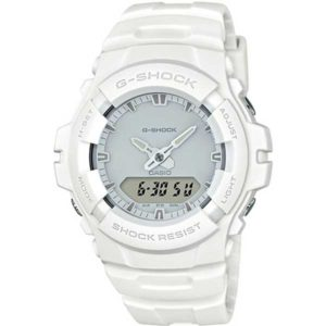 Casio G-Shock G-100CU-7AER Total White horloge