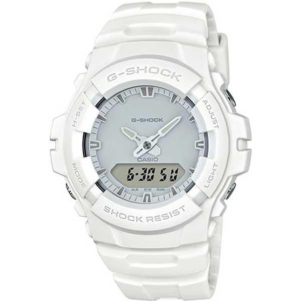 Casio G-Shock G-100CU-7AER Total White horloge