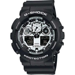 Casio G-Shock GA-100BW-1AER Zebra horloge