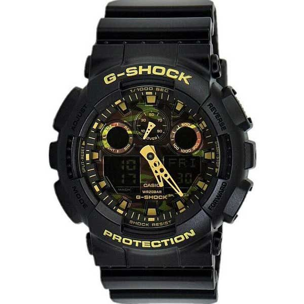 Casio G-Shock GA-100CF-1A9ER military horloge