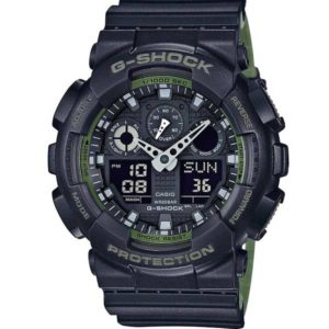 Casio G-Shock GA-100L-1AER Layered Green horloge