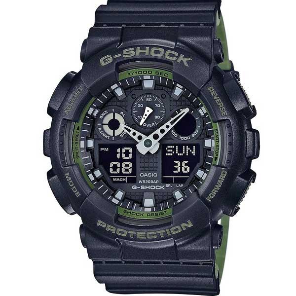 Casio G-Shock GA-100L-1AER Layered Green horloge