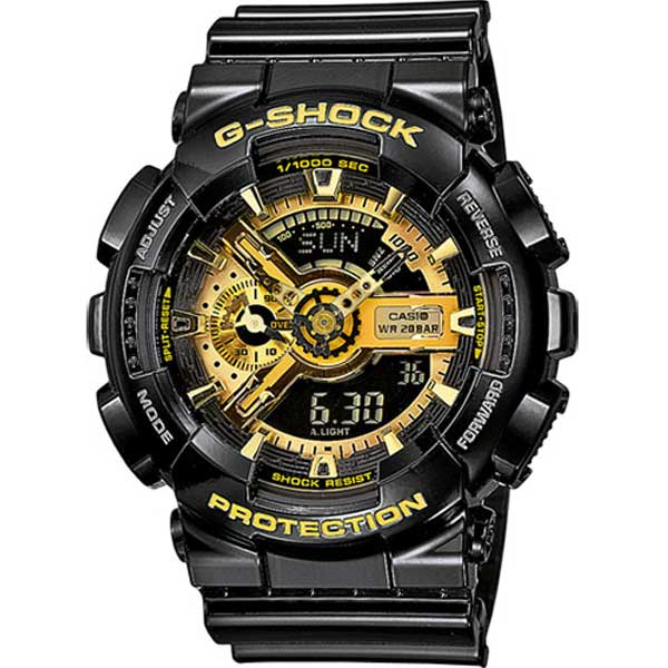 Casio G-Shock GA-110GB-1AER Mission gold horloge