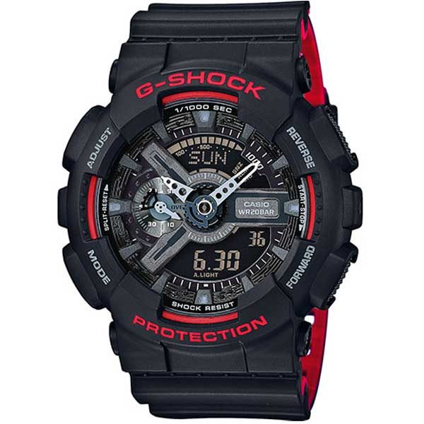 Casio G-Shock GA-110HR-1AER Layered Red horloge