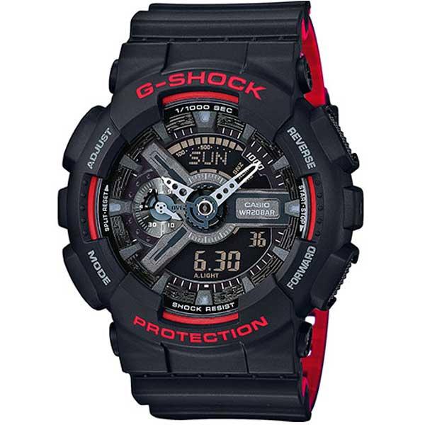 Casio G-Shock GA-110HR-1AER Layered Red horloge