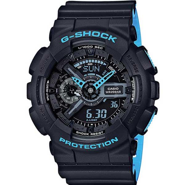 Casio G-Shock GA-110LN-1AER Layered Neon horloge