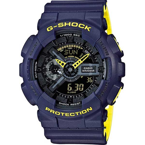 Casio G-Shock GA-110LN-2AER Layered Yellow horloge