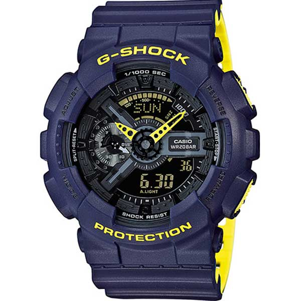 Casio G-Shock GA-110LN-2AER Layered Yellow horloge