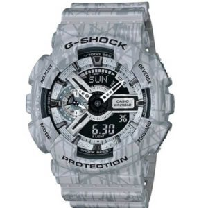 Casio G-Shock GA-110SL-8AER Slash Pattern horloge