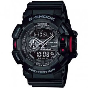 Casio G-Shock GA-400-1BER Rotary Switch horloge