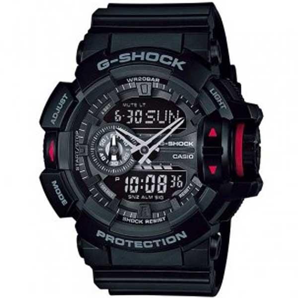 Casio G-Shock GA-400-1BER Rotary Switch horloge