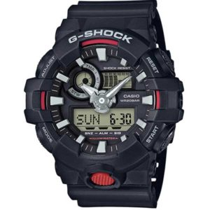 Casio G-Shock GA-700-1AER Chrono black horloge
