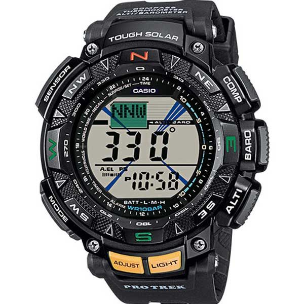 Casio Pro Trek PRG-240-1ER solar powered horloge