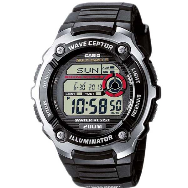 CasioWV-200E-1AVEF wave-ceptor horloge - Officiële Casio dealer