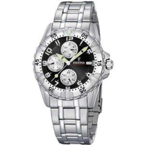 Festina F16059/B sportief horloge met datum - Officiële Festina dealer