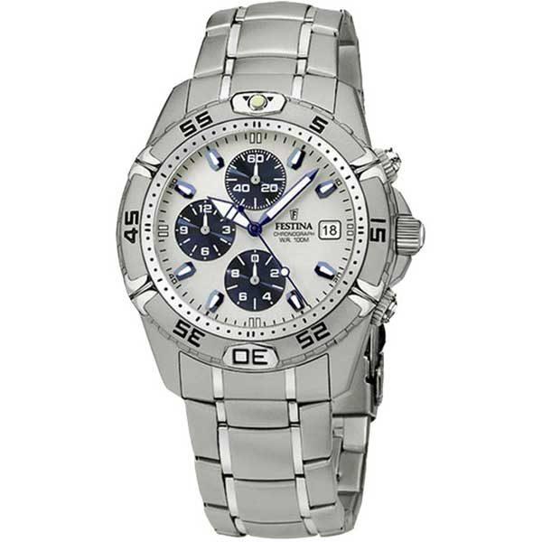 Festina Chrono F16169/2 horloge - Cadeau Set - Officiële Festina dealer