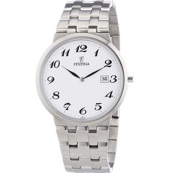 Festina F6825/4 klassiek horloge met datum - Officiële Festina dealer