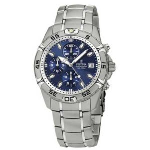 Festina Chrono F16169/5 horloge - Cadeau Set - Officiële Festina dealer