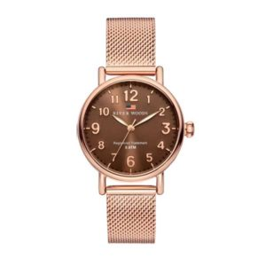 Horloge River Woods Vermillion RW340004 Rose Gold milanese