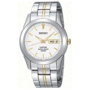 Seiko SGG719P1 bicolour horloge - Officiële Seiko dealer - Topdealer