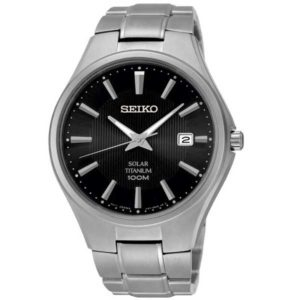 Seiko SNE377P1 titanium solar horloge - Officiële Seiko dealer - Topdealer