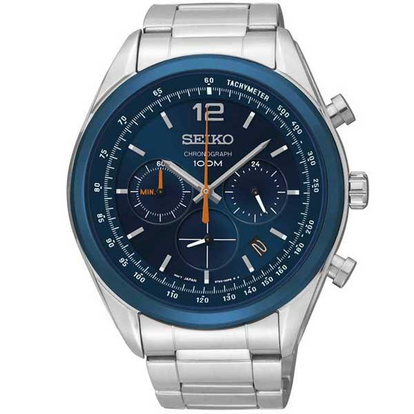 Seiko SSB091P1 chronograaf horloge - Officiële Seiko dealer - Topdealer