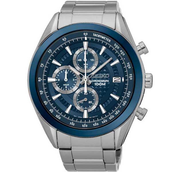 Seiko SSB177P1 chronograaf horloge - Officiële Seiko dealer - Topdealer