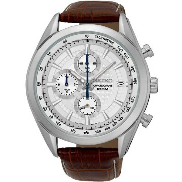 Seiko SSB181P1 chronograaf horloge - Officiële Seiko dealer - Topdealer