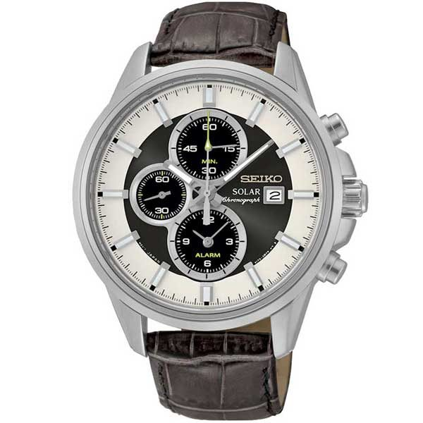 Seiko SSC259P1 solar horloge - Officiële Seiko dealer - Topdealer