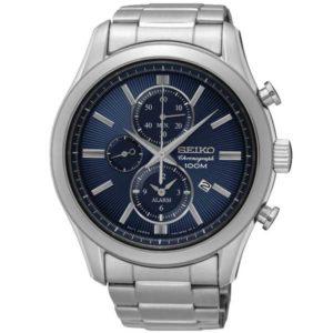 Seiko SNAF65P1 chronograaf horloge - Officiële Seiko dealer - Topdealer