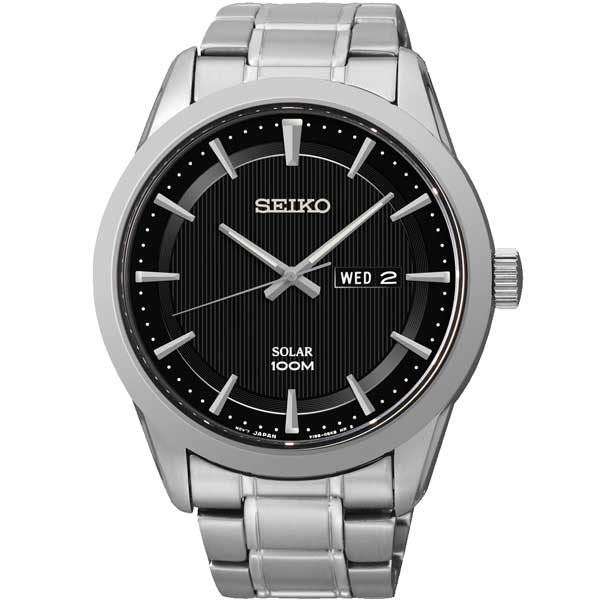 Seiko SNE363P1 solar horloge - Officiële Seiko dealer - Topdealer