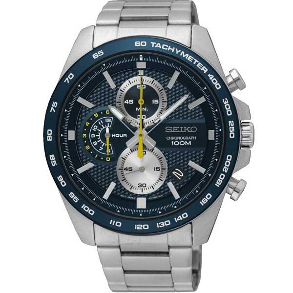 Seiko SSB259P1 chronograaf horloge - Officiële Seiko dealer - Topdealer