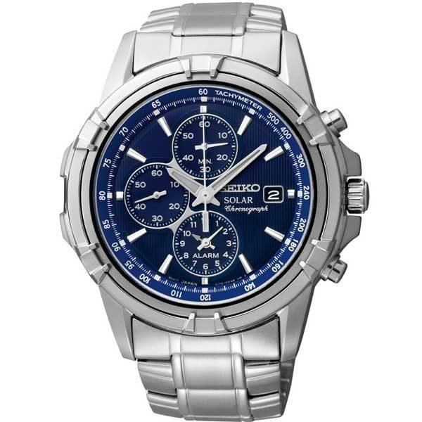 Seiko SSC141P1 solar horloge - Officiële Seiko dealer - Topdealer
